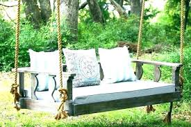 porch swing bed hanging daybed plans comfortable easy with regard to decoration diy patio porch swing bed