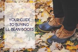 Ll Bean Boot Size Chart Ll Bean Boots Ll Bean Boots The Preppy