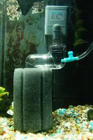 sponge co2 reactor diffuser for planted freshwater aquarium