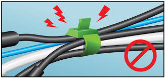 in wall wiring guide for home a v be careful wire ties