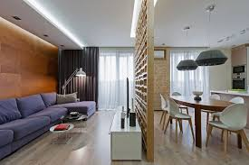 ... Living Room, Living Area Visually Separated From The Kitchen And Dining  Using Plywood Partition Room ...