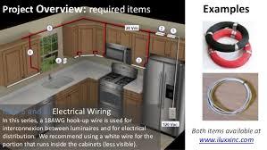 wire under cabinet lighting. 10. Wire Under Cabinet Lighting L