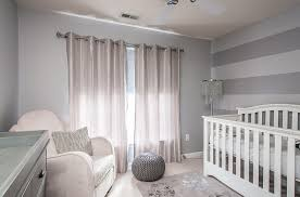 ... Gray with a touch of silver in the nursery [Design: Interior Style by  Marisa