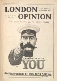 propaganda for patriotism and nationalism the british library famous lord kitchener recruitment poster your country needs you produced in