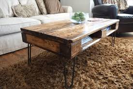 skid furniture. diy pallet skid coffee table with metal legs furniture e