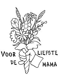 Voor Mama Moederdag Kleurplaat Auto Electrical Wiring Diagram