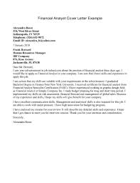 cover letter for analyst template cover letter for analyst