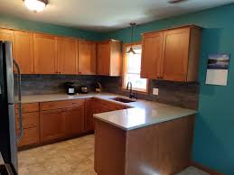 Kitchen Remodel With Maple Cabinets And Hanstone Quartz Countertops