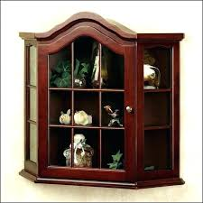curio cabinets for white curio cabinet glass doors modern for contemporary cabinets corner all