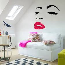 y woman audrey hepburn wall art stickers decal diy home decoration wall mural removable room decor bedroom decals for walls bedroom stickers from flylife