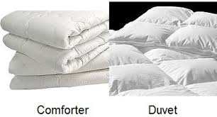 Dicas de Tradução / Translation Tips: COMFORTER / DUVET / EDREDOM ... & A duvet is a type of bedding — a soft flat bag traditionally filled with  down or feathers, or a combination of both, and used on a bed as a blanket. Adamdwight.com