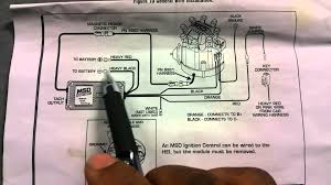 how to install msd 6al ignition box on hei youtube hei 4 pin module at Gm Ignition Module Wiring Diagram Free Picture