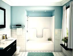 shower bath combo ideas design image of bathtub small kitchen tub