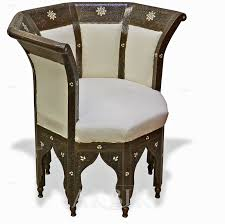 moroccan lounge furniture. C32024 - Octagon Style Chair Inlaid With Mother Of Pearl. Moroccan Lounge Furniture L