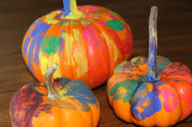 Small Pumpkin Painting Creepy Crafts Workshop 10 29