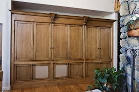 Wooden Storage Cabinets With Doors Tv Cabinets Sun Valley Wood Works
