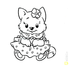 Printable Coloring Pages Of Dogs Camelliacottageinfo