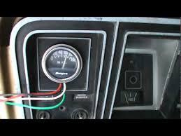 sunpro gauges wiring diagram data wiring diagrams \u2022 Aztek Gas Gauge Wiring Diagram f100 with sunpro gauges youtube rh youtube com sunpro amp gauge wiring diagram aftermarket amp gauge wiring diagram