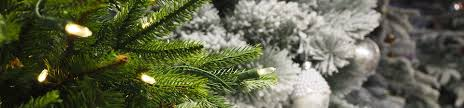 Artificial Christmas Trees Tree | Pre Lit White