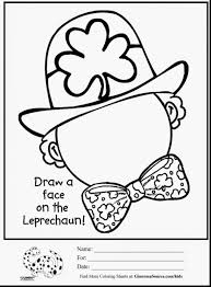 St Patricks Day Coloring Coloring Pages Amazing St Patricks Day Coloring Pages For