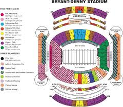 Tamu Football Seating Chart Online Ticket Office Seating Charts Roll Tide Football