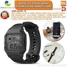 Bản quốc tế] Đồng hồ thông minh Xiaomi Huami Amazfit Neo - Bảo hành 12  tháng - Shop Thế Giới Điện Máy Thế giới điện máy - đại lý xiaomi chính hãng  tại Việt Nam