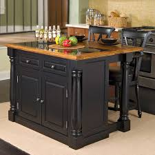 home styles monarch slide out leg kitchen island with granite top hayneedle