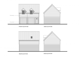 garage with office above. and if you do lift the eaves a bit itu0027s good idea to think about using more than one material as per drawings above which used cedar boarding garage with office g