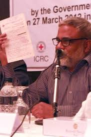 Khondoker Jakaria Khaled, Deputy Secretary-General of the Bangladesh Red Crescent Society. Group Captain Mahbubul Huq, a former internee in Pakistan, ... - bangladesh-feature-3-2012-04-19