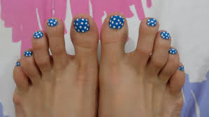 Nail Art Design For Toes Dots - Best Nails 2018