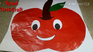 Fruit Activity For School Fun Apple Activity By Chart Paper For Project Fun Project Work 13