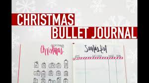 Gift Tracker Christmas Bullet Journal Gift Tracker Christmas Countdown More