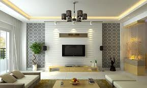 modern living room lighting. modern ceiling with lighting for living room tv trim makes it look higher