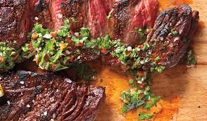 Flank Steak with Chimichurri Sauce   Chef Bob Aungst