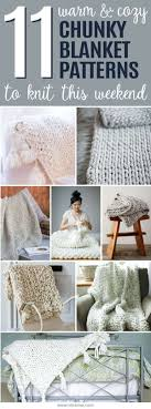 Chunky Knit Blanket Pattern Simple 48 Cozy Chunky Blankets You'll Want To Knit This Weekend Ideal Me