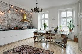 eclectic scandinavian home interior