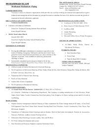 autocad resume sample draftsman - Draftsman Resume Sample