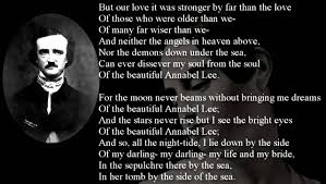 poem annabel lee by edgar allan poe sound