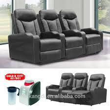 folding cinema recliner chair home theater chair with cup holder cuo cooler cinema chair