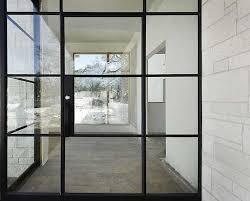 steel glass doors. Elegant Steel Glass Doors With Hardscaping 101 Factory Style Windows And Gardenista S
