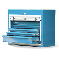 Strong Hold Small Drawer Cabinets with Roll-Up Door