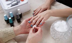 nails art las salon from aed 99