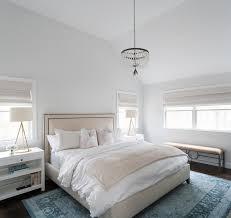 cream and blue bedroom color scheme