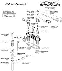 bathroom faucet replacement. American Standard Bathroom Faucet Repair Lav Williamsburg 2804 Simple Replacement