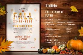 Fall Festival Flier Fall Festival Flyer Vsual