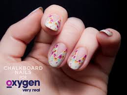 TUTORIAL: Easy Splattered Floral Nail Art, Inspired by Nail'd It ...