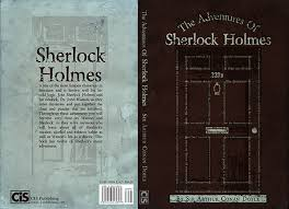 i decided to create the door of 221b baker street using es from the book front back and spine view front cover view