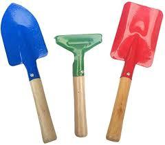 <b>Kids Gardening</b> Tools <b>3 Piece</b> Set Comes With Small Rake Spade ...