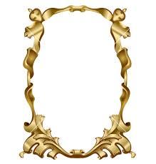 380x400 vintage gold frame vector clipart panda antique border94 antique