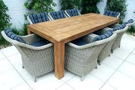 teak outdoor table aluminum and teak outdoor dining set 7 piece teak round outdoor dining table